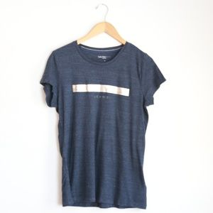 NWT Calvin Klein Short Sleeve Tee in Heather blue